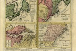Map - 1759 – Dominia Anglorum in America Septentrionali