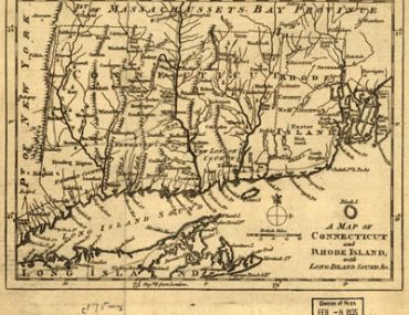 Map - 1776 – A Map of Connecticut and Rhode Island with Long Island Sound, etc.