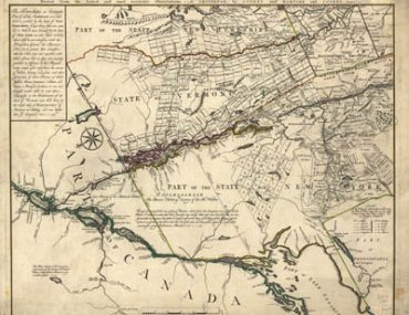 Map - 1780 – A Chorographical Map of the Northern Department of North-America