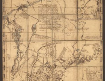 Map - 1757 – An Accurate Map of His Majesty's Province of New Hampshire in New England