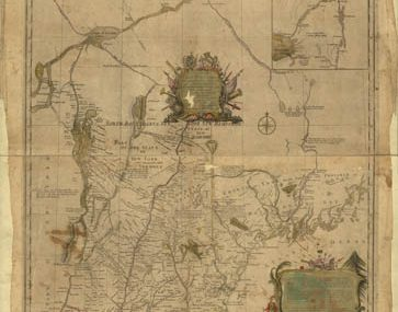 Map - 1784 – An Accurate Map of the State and Province of New Hampshire in New England
