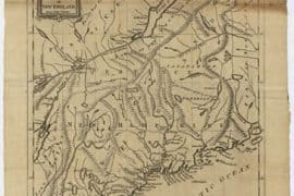 Map - 1781 – An Accurate Map of New Hampshire in New England, from a Late Survey