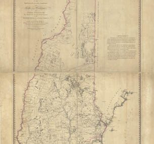 Map - 1784 – A Topographical Map of the Province of New Hampshire