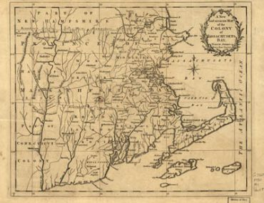Map - 1780 – A New and Accurate Mao of the Colony of Massachusetts Bay in North America