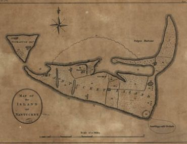 Map - 1782 – Map of the Island of Nantucket