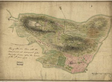 Map - 1775 – Plan of Charles Town with the Entrenchments and Encampments of His Majesty's Troops