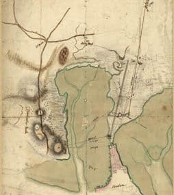 Map - 1775 – Plan of the Neck and Environs