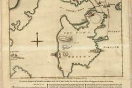 Map - 1775 – A Plan of the Battle on Bunker's Hill