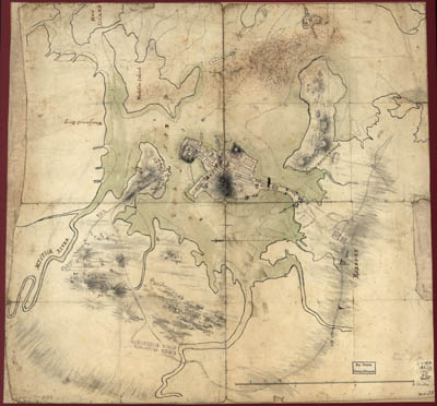 Map - 1775 – Plan of Boston and Vicinity