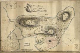 Map - 1775 – Plan of the Heights of Charles Town, & c.