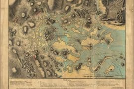 Map - 1776 – Carte du Port et Havre de Boston