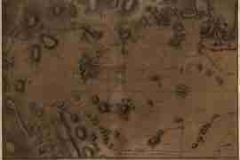 Map - 1776 – Carte von dem Hafen und der Stadt Boston mit den umliegenden
