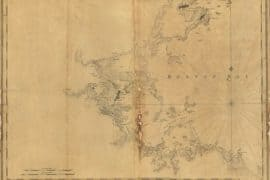 Map - 1776 – A Chart of Boston and the Vicinity