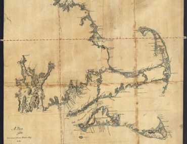 Map - 1775 – A Plan of the Sea Coast from Boston Bay to the Light House Near Rhode Island
