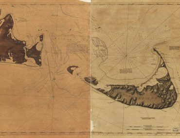 Map - 1776 – Chart of Nantucket Island and the Eastern Half of Martha's Vineyard