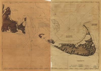 Map - 1776 – Chart of Nantucket Island and the Eastern Half of Martha's Vineyard
