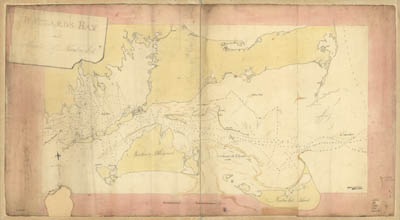 Map - 1778 – Buzzards Bay and Shoals of Nantucket