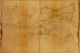 Map - 1779 – Coast of New England from Chatham Harbor to Narragansett Bay