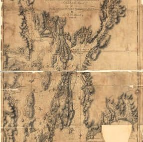 Map - 1776 – A Chart of the Harbour of Rhode Island and Narraganset Bay