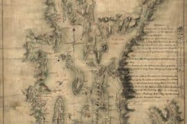 Map - 1777 – A Map of the Bay of Narraganset with the Islands Therein and their Part of the Country Adjacent