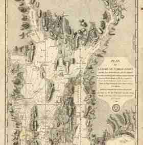Map - 1777 – Plan de la baie de Narraganaset dans la Nouvelle Angleterre