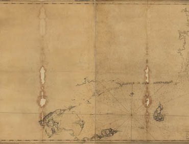 Map - 1779 – Coast of Rhode Island and Long Island from Narragansett Bay to Peconic Bay by Des Barres