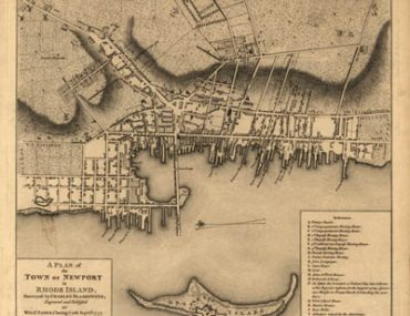 Map - 1777 – A Plan of the Town of Newport in Rhode Island