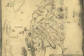 Map - 1777 – Plan von Rhode Island