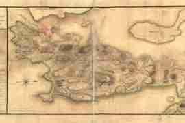 Map - 1780 – Plan de Rhodes Island, et Position de l'armee Francoise a Newport