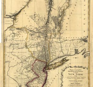 Map - 1778 – Mappa Geographica Provinciae Nova Eboraci ab Anglis New York