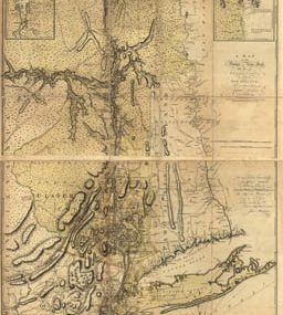 Map - 1777 – A Map of the Province of New York