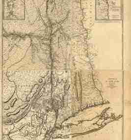 Map - 1777 – Province de New York