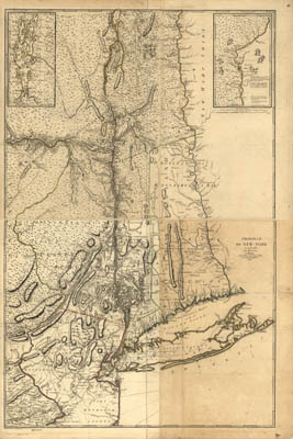 Map - 1777 – Province de New York