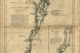 Map - 1776 – A Survey of Lake Champlain