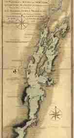 Map - 1765 – A Survey of Lake Champlain