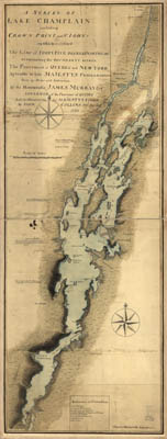 Map - 1765 – A Survey of Lake Champlain