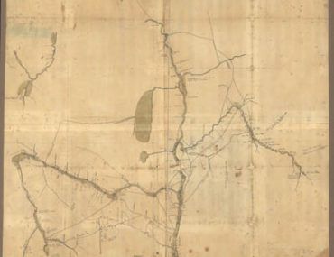 Map - 1758 – Map of the Northern Parts of New York