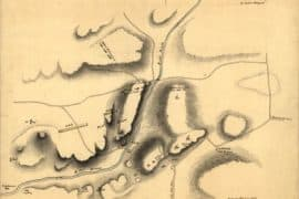 Map - 1776 – Sketch of the White Plains
