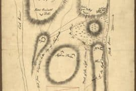 Map - 1776 – Sketch of the Hessian Attack on Fort Washington