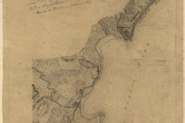 Map - 1767 – Map Showing the West Shore of North or Hudson River