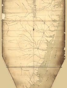 Map - 177? - Part of New Jersey