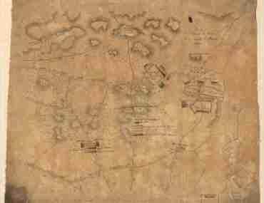 Map - 1777 – Plan de L'Affaire de Westfield and du Camp de Raway (Rahway)