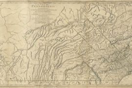 Map - 1775 – A Map of Pennsylvania
