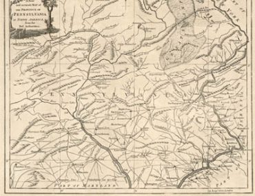 Map - 1780 – A New and Accurate Map of the Province of Pennsylvania, in North America
