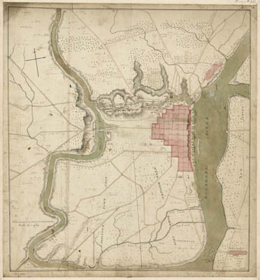 Map - 1778 – Philadelphia and Neighborhood