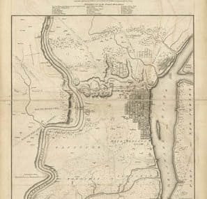 Map - 1779 – A Plan of the City and Environs of Philadelphia