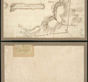 Map - 1778 – Plan of General du Portail – Plan of the Position of Valley Forge after January 1778