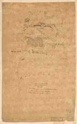 Map - 1777 – Plan du Camp Retranche a Wilmington Pour y Couvrir Notre Hospotal apres la Battaille de Brandywine
