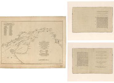 Map - 1776 – A Chart of Delaware Bay and River from the Cape of Philadelphia