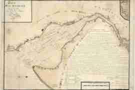 Map - 1785 – Baye de la Delaware